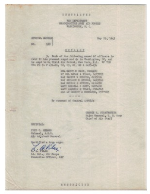 Personnel File--Special Orders No, 129 [Assignment]--29MAY1943.pdf