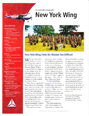 2014 New York Wing History