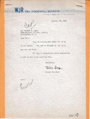 Don Large to Kendall K. Hoyt - 15 January 1943.pdf