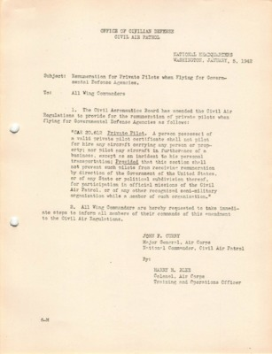 WWII Office of Civilian Defense Civil Air Patrol-Remuneration for Private Pilots-Jan. 5, 1942.pdf