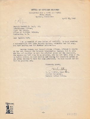 Philip H. Hinkley to Kendall K. Hoyt - 22 April 1943.pdf