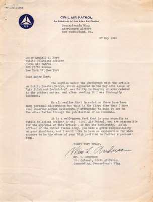 CAP Correspondence [Received]--Anderson, William L.--27MAY1944.pdf