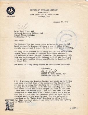 Robert K. Belt to Jack Vilas - 23 January 1943.pdf