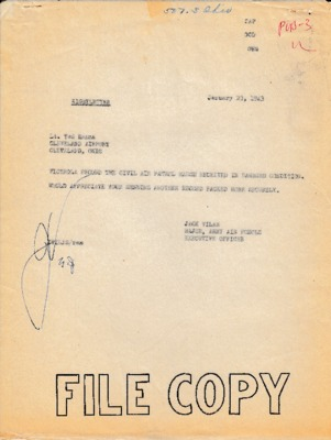 Jack Vilas to Ted Hanna - 23 January 1943.pdf