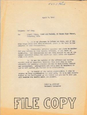 Earle L. Johnson to Lowell Riley - 9 April 1943.pdf