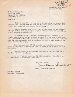 Constance Scurlock to Earle L. Johnson - 27 February 1943.pdf