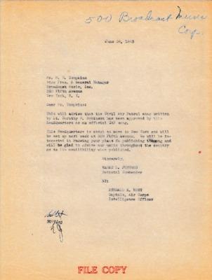 Earle L. Johnson to M.E. Tompkins - 24 June 1943.pdf
