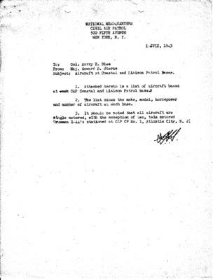 Civil Air Patrol National Headquarters - Aircraft at Coastal Patrol and Liaison Patrol Bases - 1 July 1943.pdf
