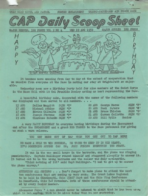 CAP Daily Scoop Sheet-Vol. 2 No. 4 Wed 19 Aug 1959 Ohio Wing Encampment.pdf