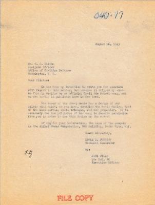 Earle L. Johnson to C.C. Sisson - 26 August 1943.pdf