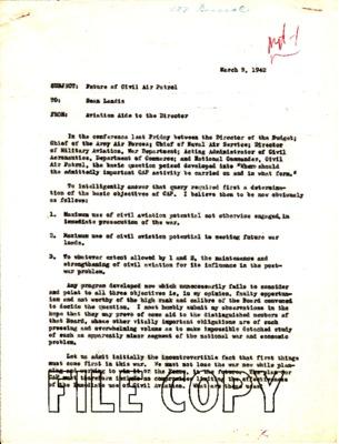 Reed Landis to James Landis - Future of CAP - 9 March 1942.pdf
