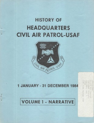 History of HQ. Civil Air Patrol - USAF, 1984.pdf