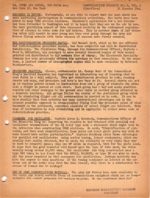 Communications Bulletin No. 2, Vol. 1 January 31, 1944.pdf
