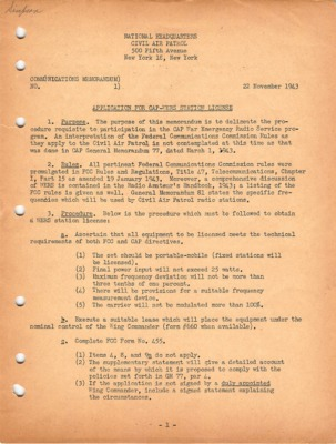 Communications Memorandum No. 1 November 22, 1943.pdf