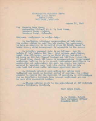 Phipps-to H. Sharp-17 August 1942-Assignment to active duty.pdf