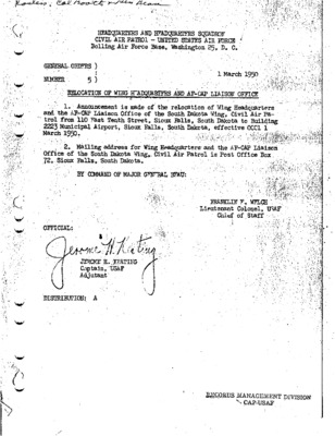 General Orders No. 5 March 1, 1950.pdf